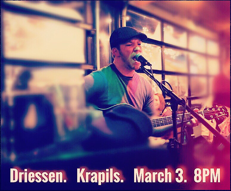 Sam Driessen Live at Krapils