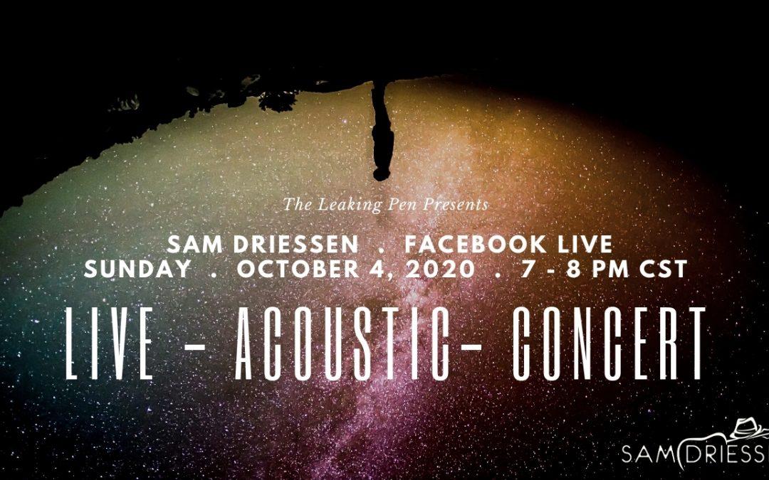 Live Performance via Facebook Live